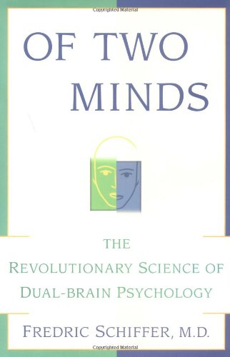 Of Two Minds By Frederic Schiffer