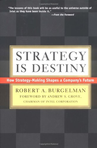 Strategy Is Destiny By Robert A. Burgelman