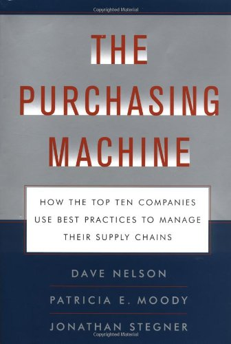 The Purchasing Machine By Dave Nelson