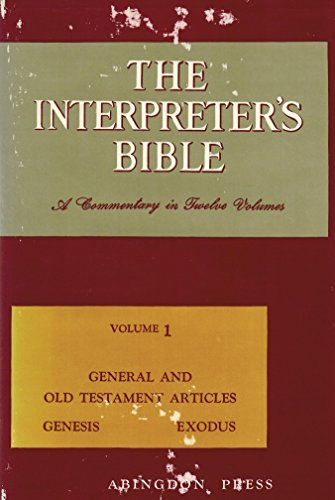The Interpreter's Bible By George Arthur Buttrick