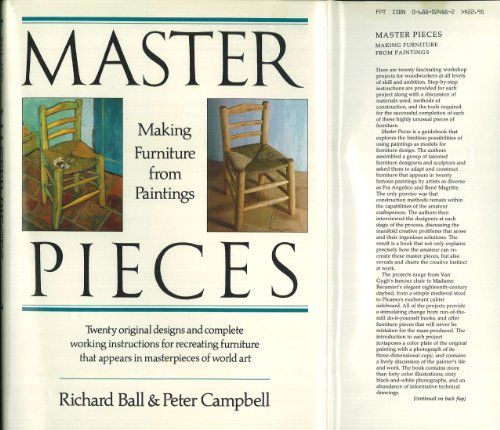 Master Pieces: Making Furniture from Paintings By Peter Campbell