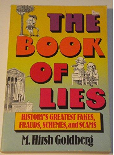 Book of Lies By M Hirsh Goldberg