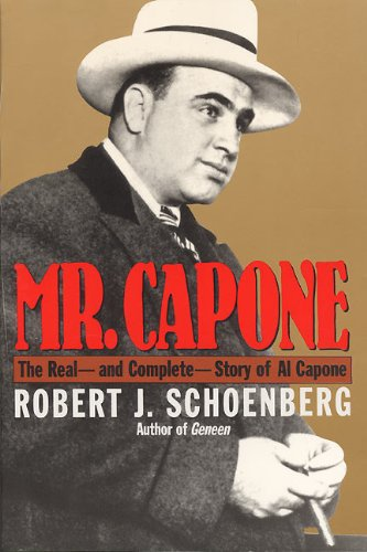 Mr Capone By Robert J. Schoenberg