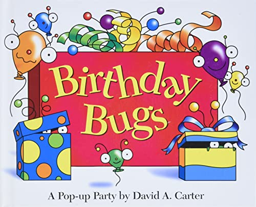 Birthday Bugs By David A Carter