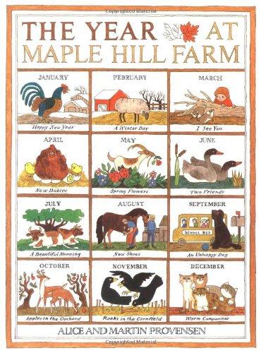 The Year at Maple Hill Farm von Alice Provensen