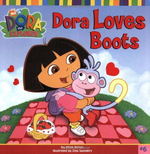 Dora Loves Boots By Alison Inches