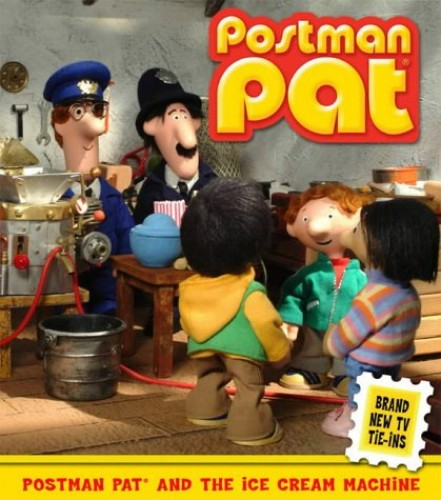 Postman Pat and the Ice Cream Machine By John Cunliffe