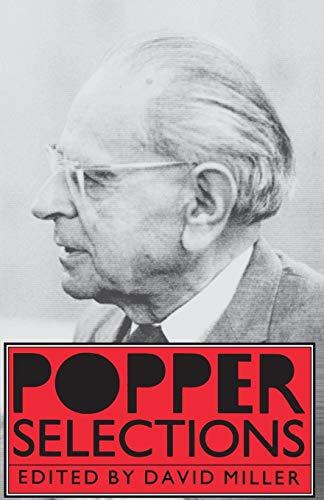 Popper Selections By Karl R. Popper