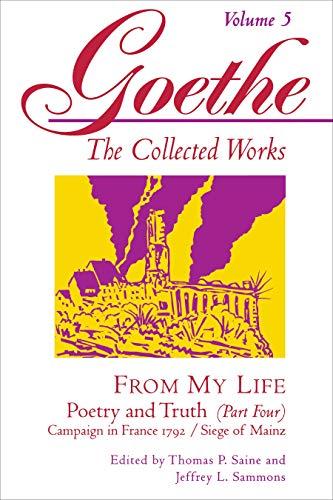 Goethe, Volume 5 By Johann Wolfgang von Goethe