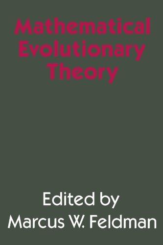 Mathematical Evolutionary Theory By Marcus W. Feldman