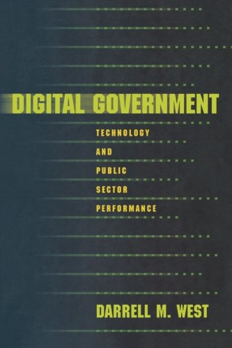 Digital Government By Darrell M. West