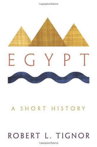 Egypt By Robert L. Tignor