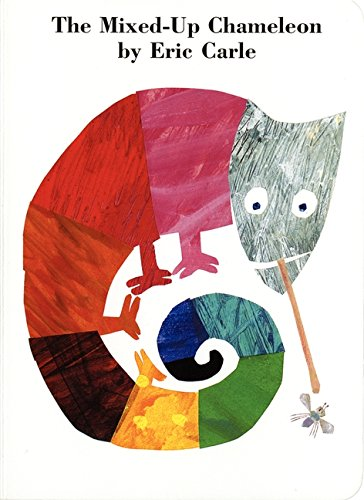 The Mixed-Up Chameleon Board Book von Eric Carle