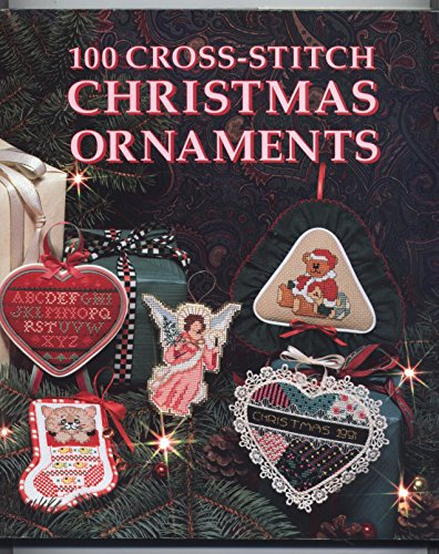 100 Cross Stitch Christmas Ornaments By Carol Evans