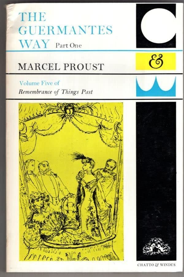 Guermantes Way By Marcel Proust