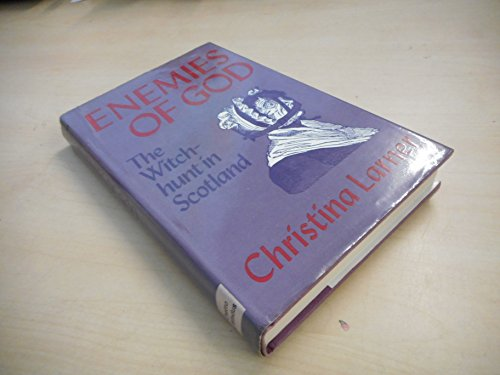Enemies of God By Christina Larner