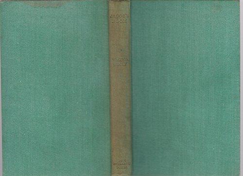 Jacob's Room By Virginia Woolf