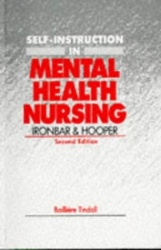 Self-Instruction in Mental Health Nursing By N.Okon Ironbar