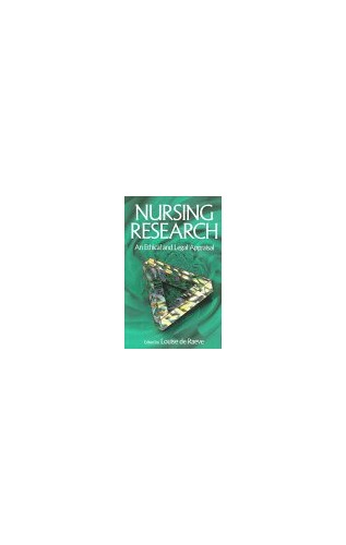 Nursing Research By Edited by Louise de Raeve