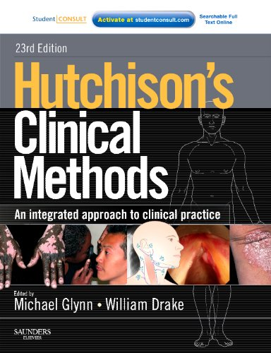 Hutchison's Clinical Methods By Dr. Michael Glynn, MA, MD, FRCP, FHEA, ILTM
