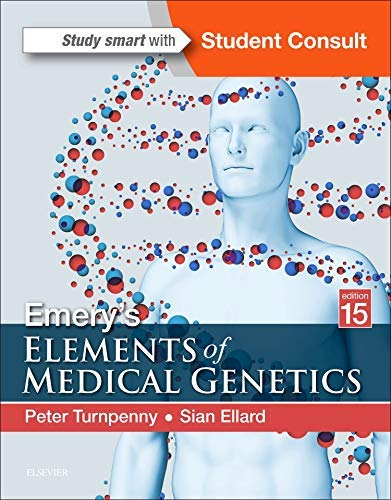 Emery's Elements of Medical Genetics By Peter Turnpenny