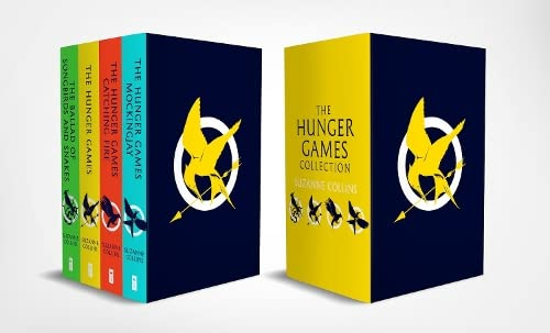 The Hunger Games 4 Book Paperback Box Set By Suzanne Collins