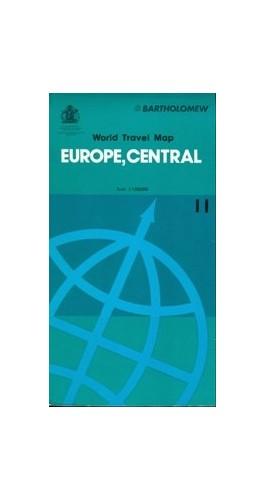 Europe Map By John Bartholomew and Son