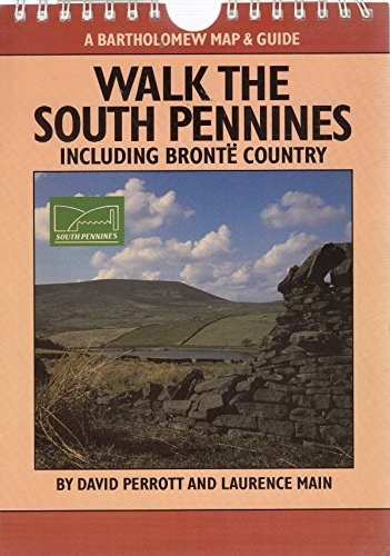 Walk the South Pennines (A Bartholomew map & guide) By David Perrott