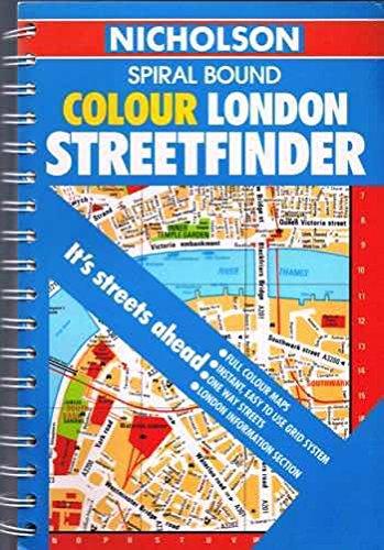 London Streetfinder By Robert Nicholson Publications