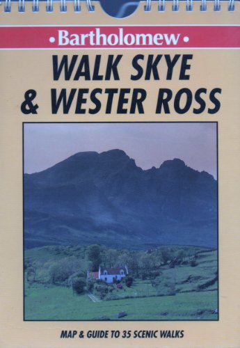 Walk Wester Ross and Skye By Richard Hallewell