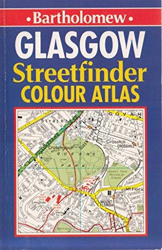 Glasgow Streetfinder Colour Street Atlas By Bartholomew