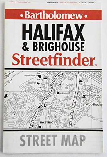 Halifax and Brighouse Streetfinder Map By Edited by Mike Cottingham