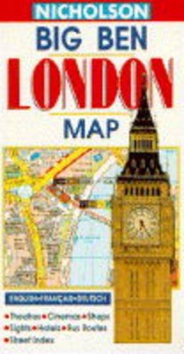 Nicholson Big Ben London Map