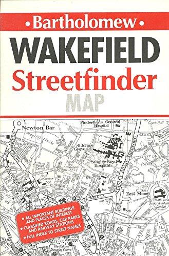 Wakefield Streetfinder Map