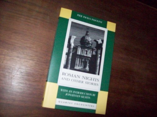 Roman Nights and Other Stories By Pier Paolo Pasolini