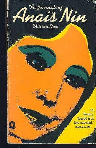 Journals of Anais Nin Volume 2 By Anais Nin