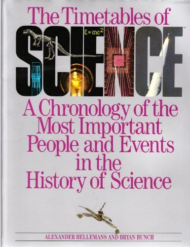 The Timetables of Science a Chronology of the Most Important People and Events in the History of Science By Hellemans. Alexander and Bunch. Bryan.