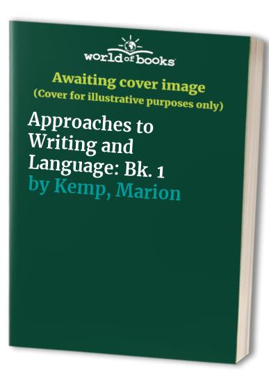 Approaches to Writing and Language: Bk. 1 By Sheila Lane