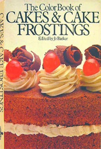Colour Book of Cakes and Cake Icing By Jo Barker