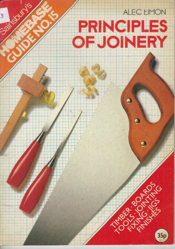 Principles of Joinery By Alec Limon
