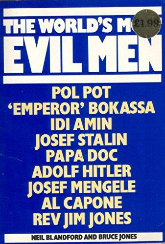 World's Most Evil Men, The By Bruce Jones