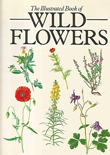 Illustrated Book of Wild Flowers By Zdenka Prodhajska