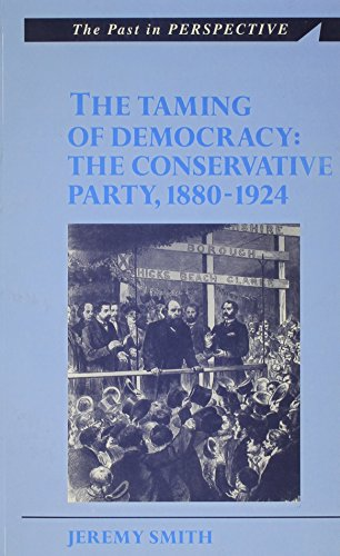 The Taming of Democracy By Jeremy Smith
