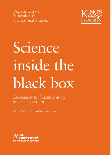 Science Inside the Black Box By Bethan Marshall