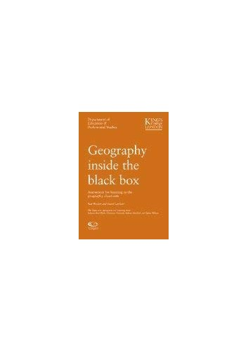 Geography Inside the Black Box By David Lambert