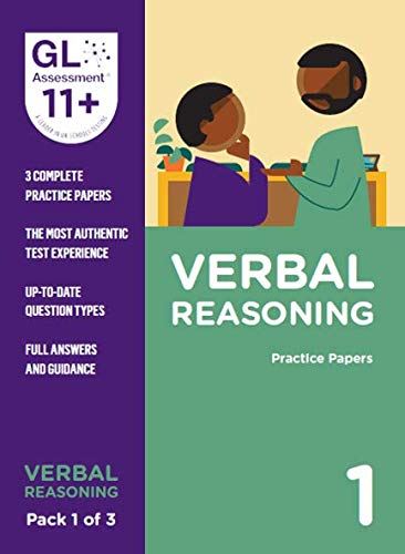 11+ Practice Papers Verbal Reasoning Pack 1 (Multiple Choice) By GL Assessment