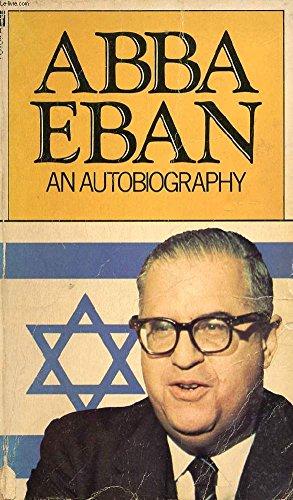 Abba Eban By Abba Eban
