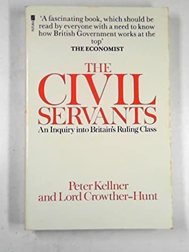 Civil Servants By Peter Kellner