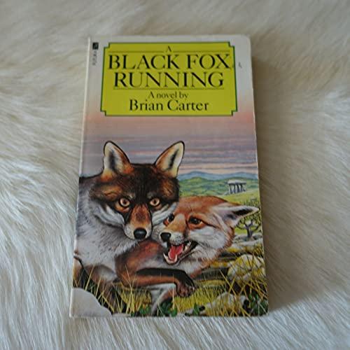 Black Fox Running By Brian Carter