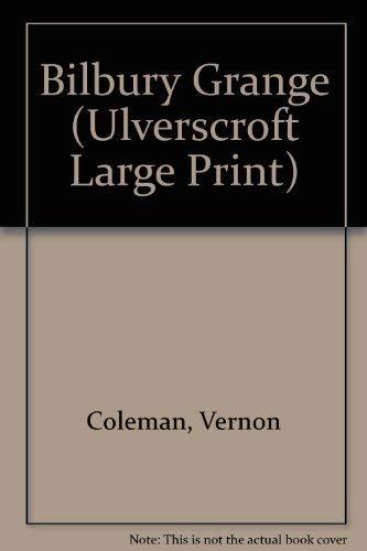 Bilbury Grange (Ulverscroft Large Print) By Vernon Coleman